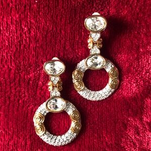Swarovski Good and Crystal Clip-on Earrings